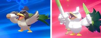 Tipps: Pokémon - Schwert & Schild: Porenta zu Lauchzelot entwickeln