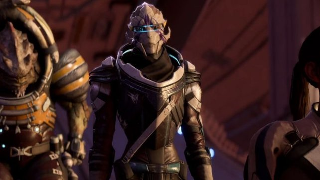 Vetra aus mass Effect - Andromeda