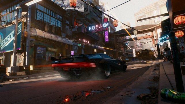 Mit der Noclip-Mod können Spieler durch Wände gehen und geheime Orte in Cyberpunk 2077 entdecken.