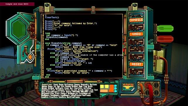 Else Heart.Break() verbindet Programmierlogik mit dem Adventure-Genre