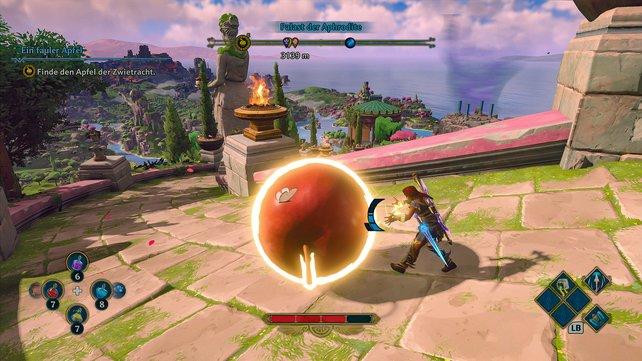 Hat sich Link in die griechische Mythologie verirrt? Vieles in Immortals Fenyx Rising erinnert an Zelda.