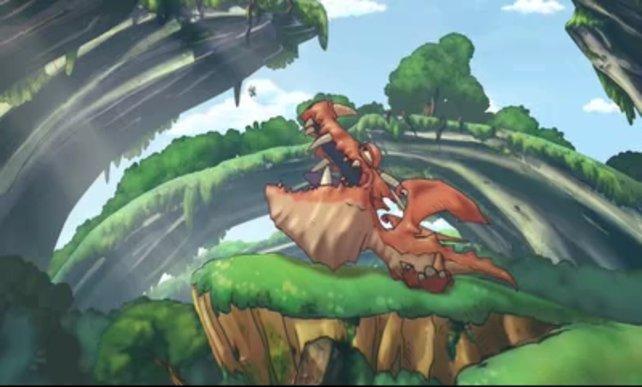 Was könnt ein Fantasy-Spiel ohne Drachen sein?