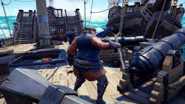 Keine Frage: Die Schlachten gegen andere Piraten sind oft ein herrlicher Nervenkitzel.