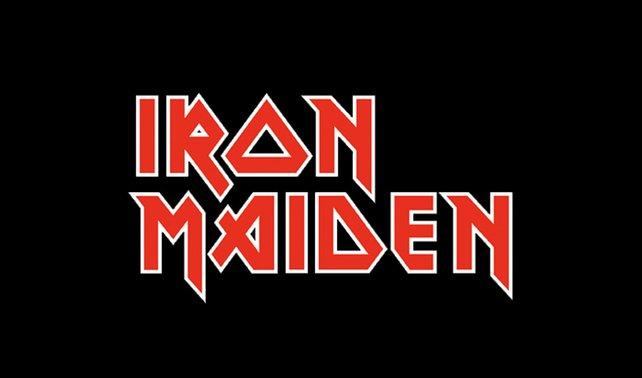 """Zum Vergleich: So sieht das """"Iron Maiden""""-Logo aus"""