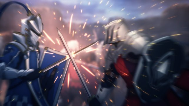 Da klirren die Schwerter.