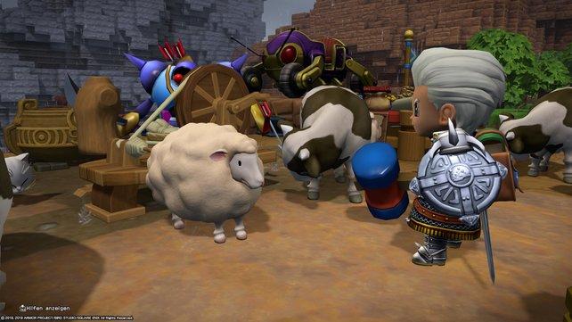 Ist es nicht putzig? Dieses Schaf lässt automatisch Wolle fallen, wenn es glücklich ist.