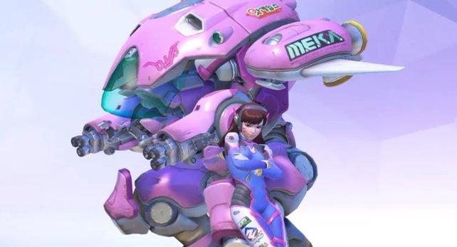 Hana Song alias D.Va war eine Pro-Gamerin, bevor sie in ihren Mech stieg.