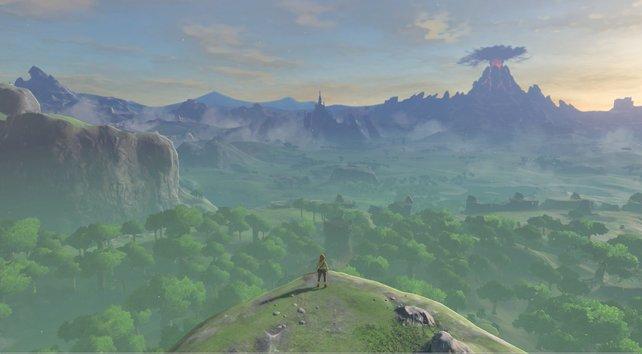Euer erster Berührungspunkt mit der Spielwelt: Der Ausblick kann sich definitiv sehen lassen!
