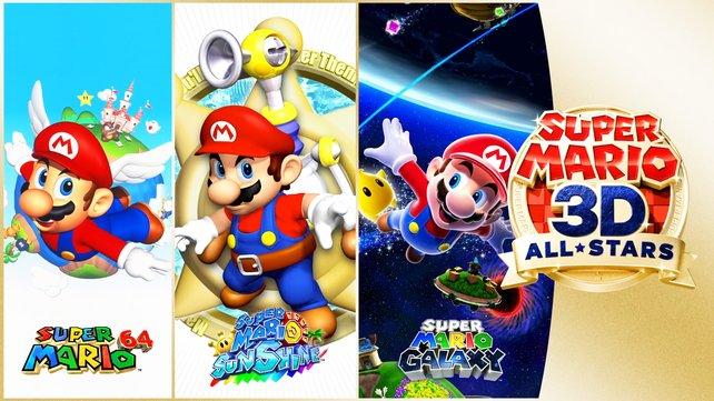 Die Qualität der Spiele ist über jeden Zweifel erhaben, aber welche Unterschiede erwarten euch eigentlich in Super Mario 3D All-Stars?