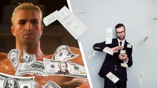 Vom Sparen und Geldverschleudern