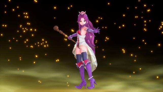 Eine neue Klasse bringt auch ein neues Outfit für den Charakter mit sich.