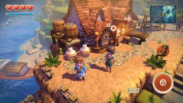 Oceanhorn - Monster of Uncharted Seas: Das Spiel erinnert stark an The Legend of Zelda - The Wind Waker und kam bei den Fans gut an.