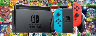 Switch-Games reduziert: Spiele für 100 oder 150 Euro bei Amazon