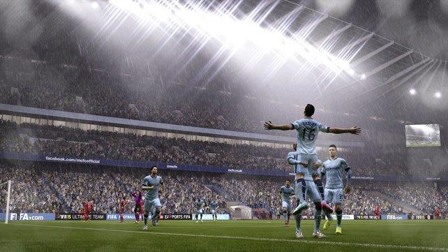 Die Inszenierung der Fußballwelt gelingt Entwickler EA Sports mit Fifa 15 exzellent.