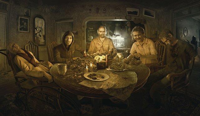 Resident Evil 7 stellte euch diese schrecklich nette Familie vor. Was der achte Teil wohl zu bieten hat?