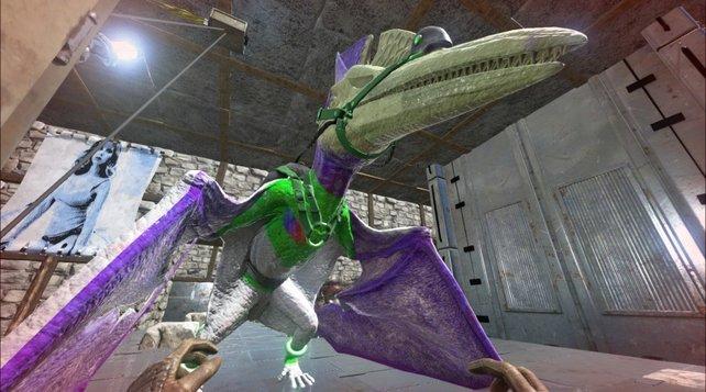 Ist das ein Pteranodon? Nein, Captain Buzz Lightyear!