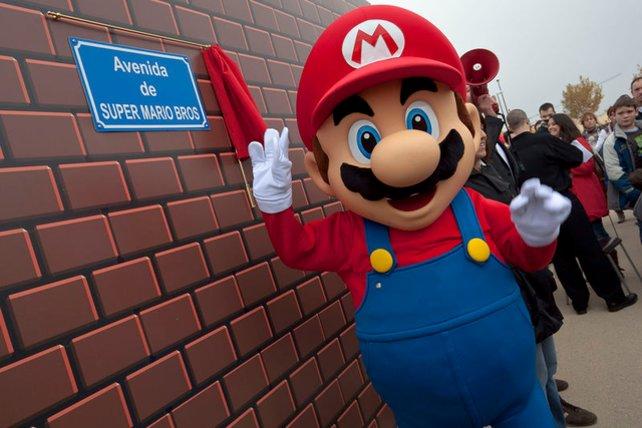 Das ist kein Werbegag mehr, sondern Realität: Spanien ist dermaßen in Mario vernarrt, dass es eine ganze Straße nach seinem Spiel benannt hat.