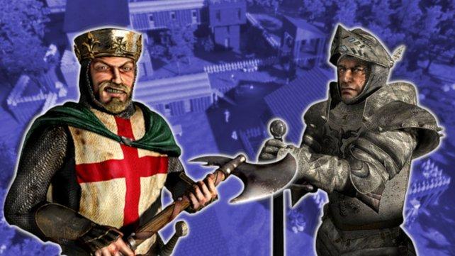 Ein neue Survival-Simulation auf Steam lässt euch Burgen wie in Stronghold bauen.