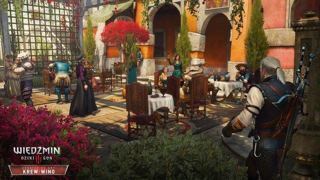 In der Erweiterung bereist Geralt ganz neue Landstriche.