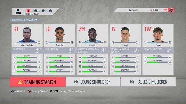 Fifa 20 karrieremodus talente