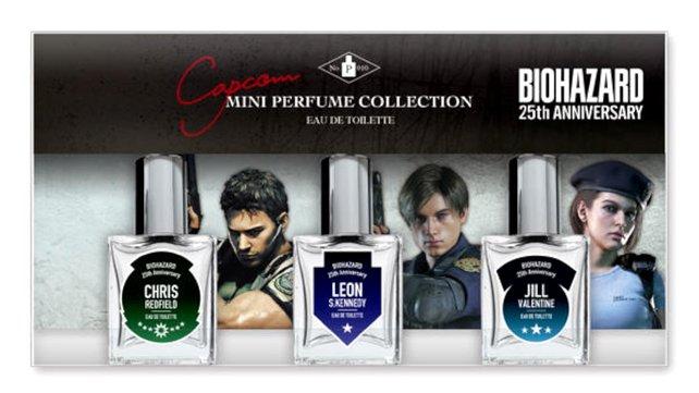 So sieht das Design der Resident-Evil-Parfüme aus.