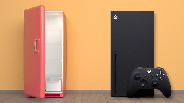 Microsoft lässt euch einen Xbox-Kühlschrank gewinnen. Bildquelle: Getty Images/ welcomeinside