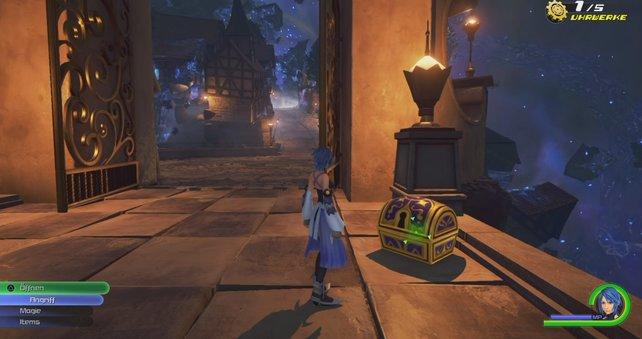 Wir zeigen euch die Fundorte aller Schatztruhen in Kingdom Hearts 0.2 Birth by Sleep.