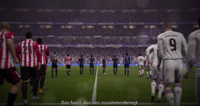 Am 29 September ist Fifa 17 im Handel erhältlich