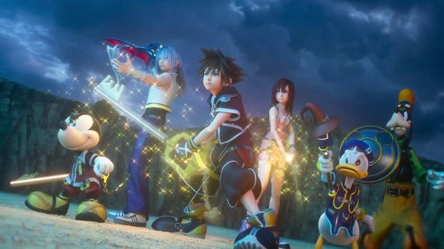 Das (vielleicht) letzte Wiedersehen mit der Truppe rund um Sora.