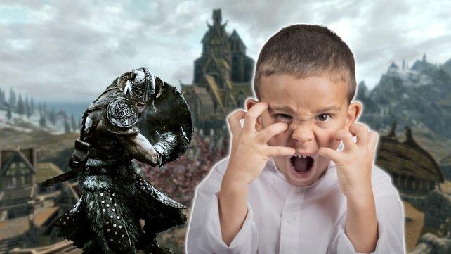 Ein Skyrim-Spieler lernt, dass er seinem Sohn nicht vertrauen kann. Bildquelle: Getty Images/ SIphotography