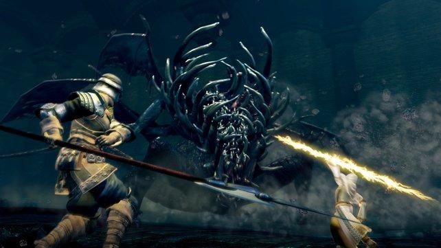 Mit den Seelen von Bossen könnt ihr mächtige Boss-Waffen herstellen.