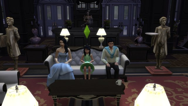 Die Königsfamilie führt ein ehrbares Leben. Nur wer sich bemüht, kann das Herz des Oberhaupts erobern.