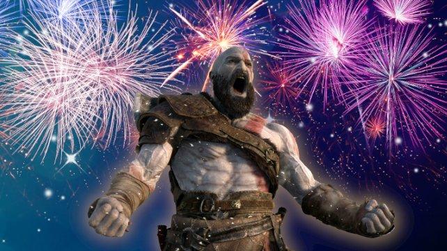 Auch Kratos aus God of War könnte einen Neujahrsvorsatz gut gebrauchen. (Quelle: Getty Images, momnoi)