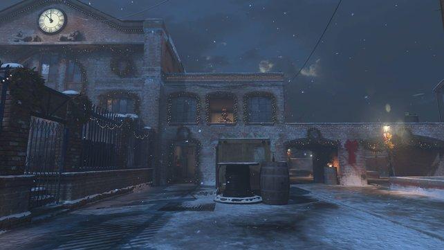 In Call of Duty: Modern Warfare wird es an manchen Stellen ein wenig weihnachtlich.