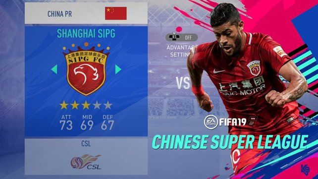Wie schon im Vorgänger, so ist auch in FIFA 20 die Chinesische Super League wieder mit dabei.