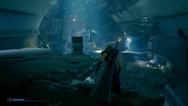 Ihr kommt auch an den altbekannten Robo-Armen vorbei, allerdings muss Cloud diesmal nicht sein Fingerspitzengefühl mit ihnen unter Beweis stellen.