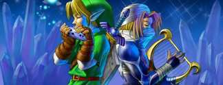 The Legend of Zelda - Ocarina of Time mit einer Ocarina gespielt
