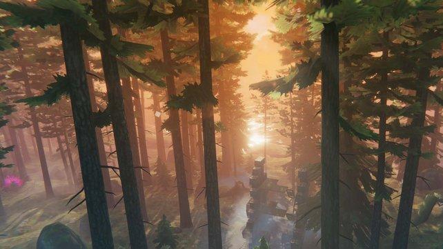 Mit dem Cheat freefly könnt ihr in Valheim unglaublich schöne Screenshots erstellen.