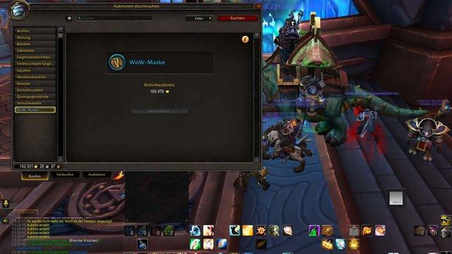 Die WoW Marke in World of Warcraft: Shadowlands