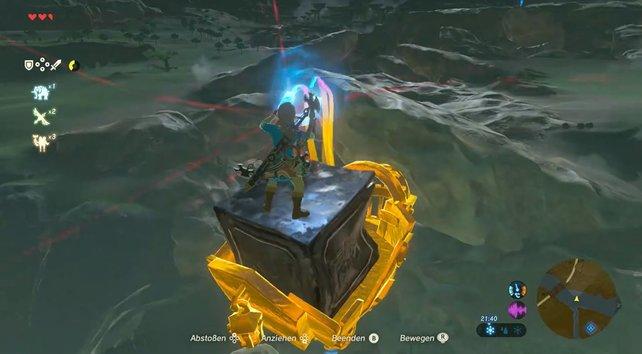Selbst fliegen ist in Zelda - Breath of the Wild gar kein Problem!