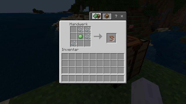 leine herstellen minecraft