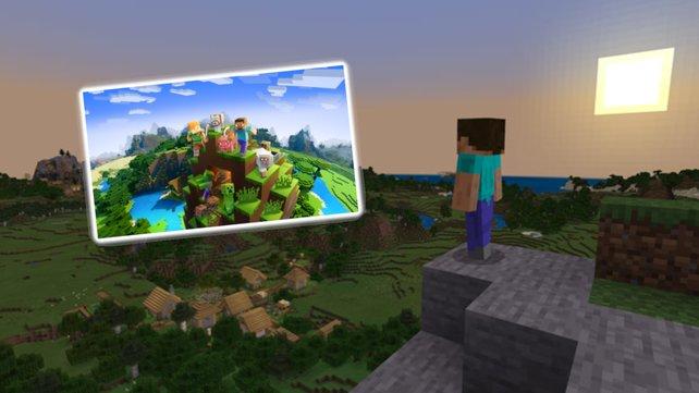 Jetzt könnt ihr Minecraft sogar in Minecraft spielen. Bildquelle: Mojang