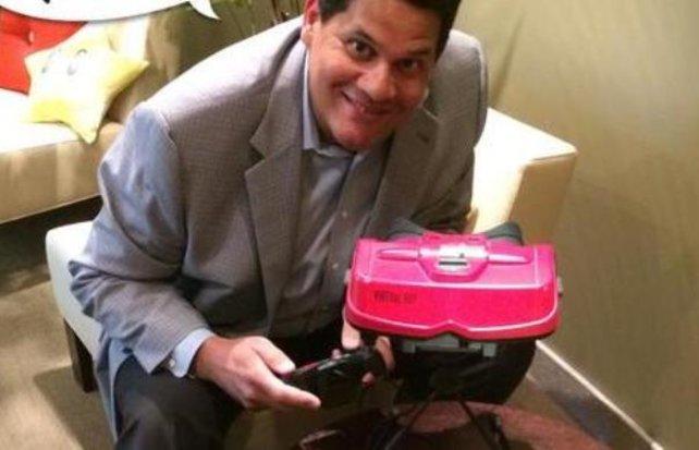 Nintendos Amerika-Chef macht noch heute zuversichtlich Werbung für den Virtual Boy. Aber wir kennen ihn ja als Spaßvogel, nicht wahr?