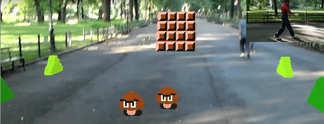 Super Mario Bros.: 2D-Klassiker in Augmented Reality rekreiert