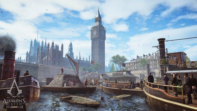 Wunderschön: Wahrzeichen wie der Big Ben werden gewohnt liebevoll umgesetzt.