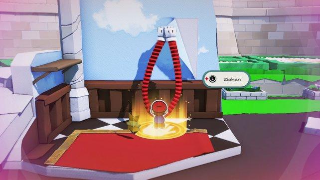 Mit den Faltarmen besitzt Mario eine neue Fähigkeit, mit der er weitentfernte Dinge erreichen kann. Dieses Gimmick kommt überraschenderweise nicht so oft zum Einsatz.