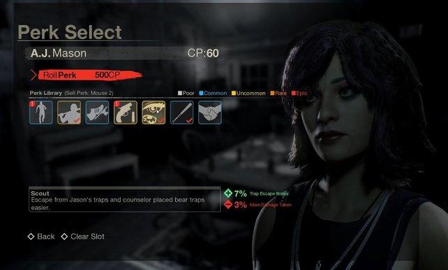 Mit CP kauft ihr euch Perks, die ihr mit allen Überlebenden gleichzeitig nutzen könnt.