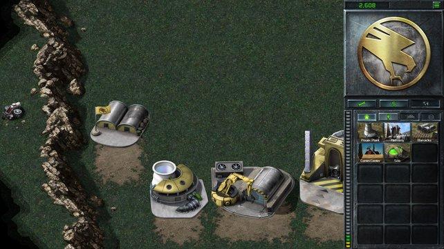 Der gleiche Screenshot, nur dieses Mal deutlich ohne UFO