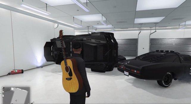 User aavocados hat Schwierigkeiten mit seiner paranormalen Garage in GTA Online.