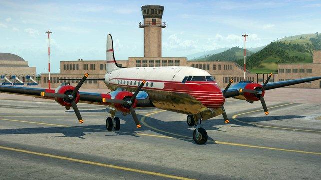 Auch über den Luftweg könnt ihr Passagiere transportieren.